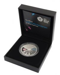2012 Silver Proof £5 Coin London 2012 Paralympics for sale